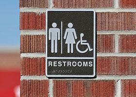 best restroom signs in Grand Rapids