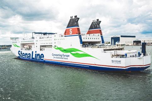 Stena Line Boat Wraps in Michigan